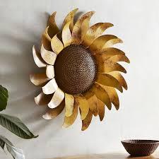 sunflower metal wall decor pier 1