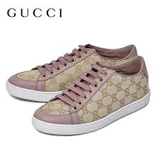 gucci tennis shoes. gucci gucci gg canvas sneaker shoes beige / pink [women\u0027s] 338883 ftazo 9660 tennis