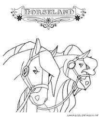 Small Picture Awesome Horseland Coloring Page Dinokids Best Resolution http