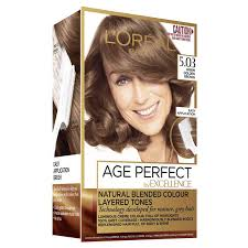 L Oreal Excellence Age Perfect Colour Chart Details About Loreal Excellence Age Perfect 5 03 Warm Golden Brown