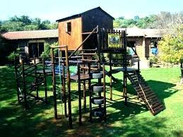 backyard jungle gym diy