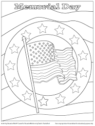 Small Picture Education World Coloring Sheet Memorial Day