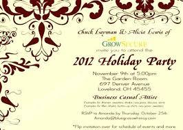 Company Luncheon Invitation Wording Annual Party Invitation Wording