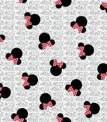 Minnie Mouse Pattern New Decoration