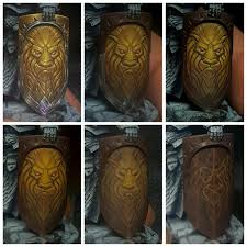 lion head on a shield freehand painting tutorialspainting tipspainting techniqueswarhammer
