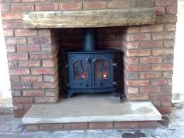 wood burning fireplace chimney cap log stove flue size without liner yeoman