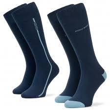 Набор из <b>2</b> пар высоких мужских <b>носков BOSS</b> - 2P Rs Logo <b>Stripe</b> ...