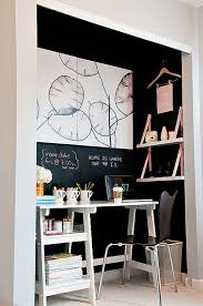 turn closet home office. Small Space Inspiration: 10 Closets Turned Workspaces \u0026 Home Offices Turn Closet Office S