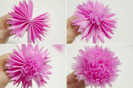 Making Flower Using Crepe Paper Crape Paper Flower Making Zlatan Fontanacountryinn Com