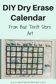 office decor stores. Diy Dry Erase Calendar | Wall Handmade Office Decor Whiteboard Art Stores