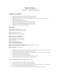 Sergeant Resume Examples Creative Sample Resume Police Lieutenant For Your Captivating Police 3