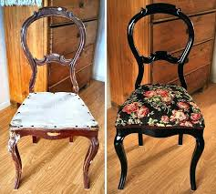 diy chair upholstery chair restoration upholstery renovation black rococo diy dining chair upholstery ideas diy chair upholstery