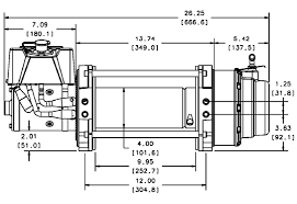 v winch motor wire diagram 12v winch motor wiring diagram wiring diagram and schematic design harbor freight winch wiring pirate4x4 4x4