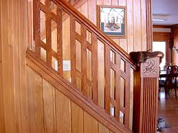 Easy Wood Stair Railing Repair And Install. Interior Stair Railing Designs  And Ideas.