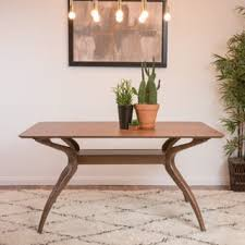 mid century modern dining table. Salli Natural Finish Wood Dining Table By Christopher Knight Home Mid Century Modern