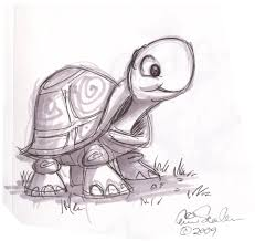Small Picture cartoon animal sketch Cute Turtle drawings Pinterest