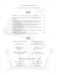 holiday menu templates from imenupro more than just templates easter menu
