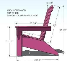 lowes adirondack chair plans. Adirondack Chair Plans Dimensions Free Lowes .