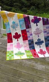 Glorious and Free quilt pattern. When finished will go to Quilts ... & Happy Canada Day everyone. By the time we went to the cottage on Saturday,  I had of this sweet quilt machine quilted. Adamdwight.com