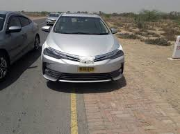 Pictures: Toyota Corolla test mule spotted in Pakistan