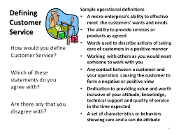 Define Customer Service Module 13 Customer Service Power Point