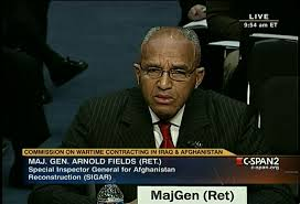 Afghan Construction Projects, Arnold Fields Testimony | C-SPAN.org