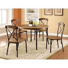 industrial age furniture. Get Quotations · Furniture Of America Stilson Industrial 5 Piece Round Table Set Age L