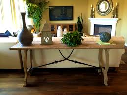 Sofa Table Decorations Trendy Decorate Sofa Table Behind Couch Beach Style Living Room