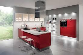 Cuisine Rouge Et Blanc Decoration Gris Et Blanc Stunning Salon