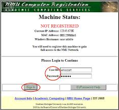 Registering A Computer On Nmus Network It Services