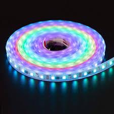 Ws2811 Dc12v 300leds Programmable Led Strip Lights Addressable Digital Full Color Chasing Flexible Led Strips Outdoor Waterproof 1 64ft 16 4ft Per
