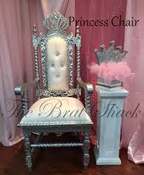 elegant princess chair al for birthdays baby showers