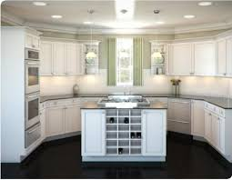 U Shaped Kitchen Designs With Island And Kitchen Tile Floor Designs By  Means Of Shaping Your Kitchen With Appealing Formation And Color Concept 20