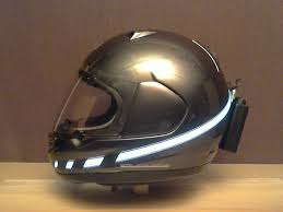 Motorcycle Helmet Light Kit Electroluminescent El Helmet Light Kit Project Has