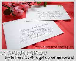 extra wedding invitations? invite these celebrities to get signed How To Reject Wedding Invitation How To Reject Wedding Invitation #22 how to reject a wedding invitation