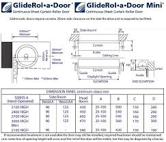 standard single skin gliderol roller garage doors