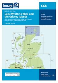 Imray Chart C68 Cape Wrath To Wick And The Orkney Islands