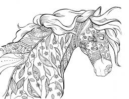Horse stuff to learn with answers. Printable Horse Color By Number Coloring Pages Page 1 Line 17qq Com