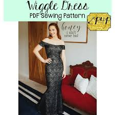 Patterns For Pirates Beauteous Nursing Friendly formal Dress Awesome Wiggle Dress Patterns for