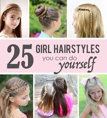 Hairstyle Yourself 25 little girl hairstylesyou can do yourself get out of your 7136 by stevesalt.us