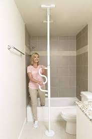 Bathroom Safety For Seniors Adorable Amazon Stander Security Pole Curve Grab Bar Elderly Tension