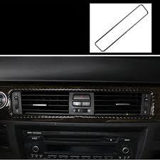 <b>lsrtw2017 carbon fiber car</b> dashboard middle vent trims for bmw 3 ...