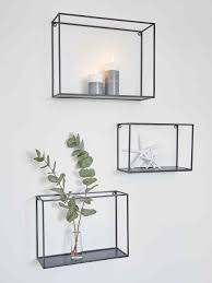 metal wall rack set