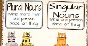 64 Unmistakable Singular And Plural Nouns Anchor Chart First