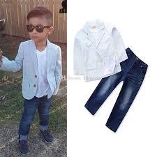 <b>2019 Kids</b> Designer Clothes Boys <b>Gentleman</b> Outfits <b>Children</b> Coat+ ...