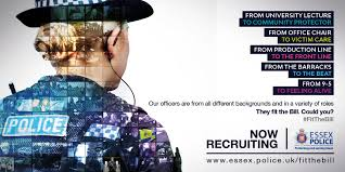 Why To Become A Police Officer Police Officer Recruitment Essex Police