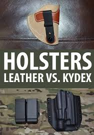 leather vs kydex holsters image