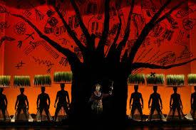 Lion King Stage Design The Lion King Broadway Musical Original Ibdb