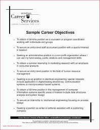 Sample Resume Objective Statements For Business Analyst Valid Sample