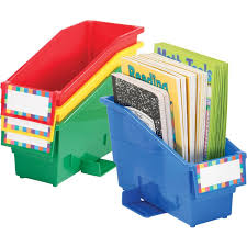 Plastic Magazine Holders For Classroom Beauteous Durable Book And Binder Holder With Stabilizer Wing And Label Holder